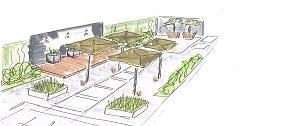 ontwerp van tuin